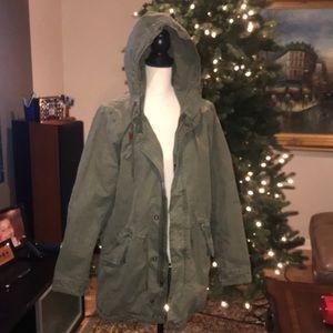 Like new army heavy jacket